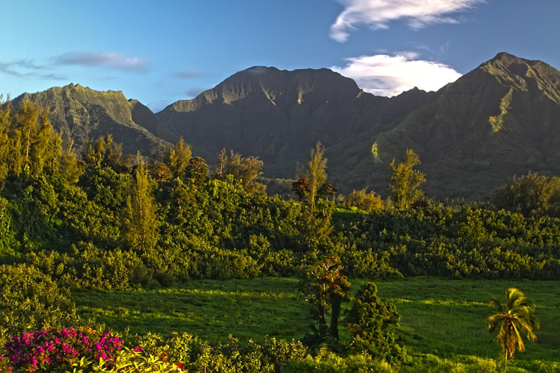 Mt Waialeale - View from Princeville